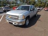 2013 Silver Ice Metallic Chevrolet Silverado 1500 LT Extended Cab 4x4 #69997907