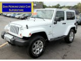 2012 Bright White Jeep Wrangler Sahara 4x4 #69997165