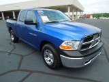 2011 Deep Water Blue Pearl Dodge Ram 1500 ST Quad Cab #69997879