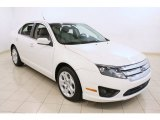 2011 White Suede Ford Fusion SE V6 #69997854