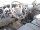 2007 Dodge Ram 3500 SLT Quad Cab Dually Medium Slate Gray Interior