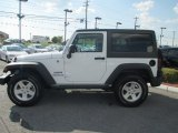2012 Bright White Jeep Wrangler Sport S 4x4 #70081487