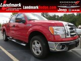 2010 Vermillion Red Ford F150 XLT SuperCrew #70081217