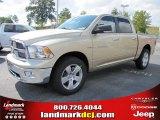 2011 White Gold Dodge Ram 1500 Big Horn Crew Cab #70081215