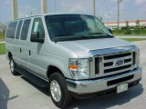 2008 Silver Metallic Ford E Series Van E350 Super Duty XLT Passenger #6957434