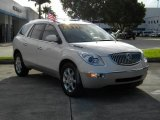 2008 White Diamond Tri Coat Buick Enclave CXL AWD #70081454