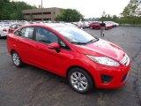 2013 Race Red Ford Fiesta SE Sedan #70081147