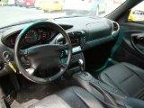 1999 Porsche 911 Carrera Cabriolet Black Interior