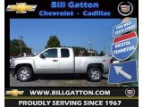 2012 Silver Ice Metallic Chevrolet Silverado 1500 LT Extended Cab 4x4 #70081649