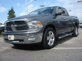 2010 Mineral Gray Metallic Dodge Ram 1500 Big Horn Quad Cab 4x4 #70081105