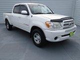 2005 Natural White Toyota Tundra SR5 Double Cab #70081322