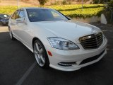 2013 Diamond White Metallic Mercedes-Benz S 550 Sedan #70081031