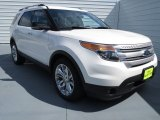 2013 White Platinum Tri-Coat Ford Explorer XLT #70081317