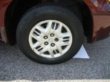 Dodge Caravan 2001 Wheels and Tires