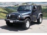 2008 Jeep Wrangler Steel Blue Metallic