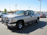 2003 Light Pewter Metallic Chevrolet Silverado 1500 LS Extended Cab 4x4 #70081510