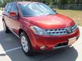 2007 Sunset Red Pearl Metallic Nissan Murano SL #70133637