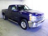 2013 Blue Topaz Metallic Chevrolet Silverado 1500 LT Extended Cab #70133316