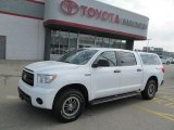 2011 Super White Toyota Tundra TRD Rock Warrior CrewMax 4x4 #70132949