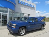 2003 Arrival Blue Metallic Chevrolet Silverado 1500 SS Extended Cab AWD #70132932