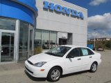 2003 Cloud 9 White Ford Focus SE Sedan #70132931