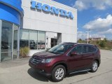 2012 Basque Red Pearl II Honda CR-V EX-L 4WD #70132930