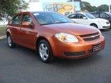 2007 Sunburst Orange Metallic Chevrolet Cobalt LT Sedan #70133562