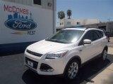 2013 White Platinum Metallic Tri-Coat Ford Escape SEL 1.6L EcoBoost #70132852