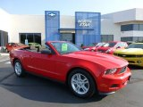 2012 Race Red Ford Mustang V6 Convertible #70133126