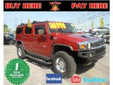 2003 Sunset Orange Metallic Hummer H2 SUV #70133442