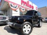 2012 Black Jeep Wrangler Sahara 4x4 #70133438