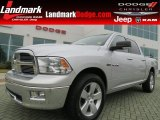 2009 Bright Silver Metallic Dodge Ram 1500 Big Horn Edition Crew Cab #70133074