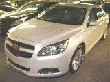 2013 Silver Ice Metallic Chevrolet Malibu LTZ #70133029