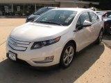 2013 White Diamond Tricoat Chevrolet Volt  #70133026