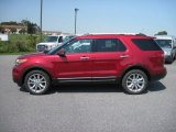 2013 Ruby Red Metallic Ford Explorer Limited 4WD #70133334