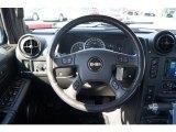 2006 Hummer H2 SUT Steering Wheel