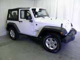 2011 Bright White Jeep Wrangler Sport S 4x4 #70195857
