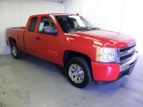 2011 Victory Red Chevrolet Silverado 1500 LS Extended Cab #70195855