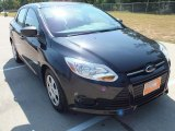 2012 Tuxedo Black Metallic Ford Focus S Sedan #70196201