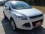 2013 White Platinum Metallic Tri-Coat Ford Escape SE 2.0L EcoBoost 4WD #70196199