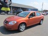 2007 Sunburst Orange Metallic Chevrolet Cobalt LS Sedan #70196179
