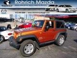 2011 Mango Tango Pearl Jeep Wrangler Sport S 4x4 #70195433