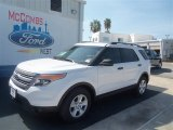2013 Oxford White Ford Explorer FWD #70195425