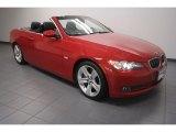 2009 Crimson Red BMW 3 Series 335i Convertible #70195797