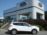 2013 Oxford White Ford Escape SE 2.0L EcoBoost 4WD #70195380