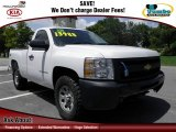 2011 Summit White Chevrolet Silverado 1500 Regular Cab 4x4 #70196055