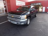 2012 Black Granite Metallic Chevrolet Silverado 1500 LT Crew Cab 4x4 #70195750