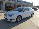 2011 White Suede Ford Fusion SEL #70195746