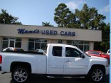 2009 Summit White Chevrolet Silverado 1500 LT Extended Cab #70195731