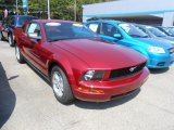 2007 Redfire Metallic Ford Mustang V6 Deluxe Coupe #70195304